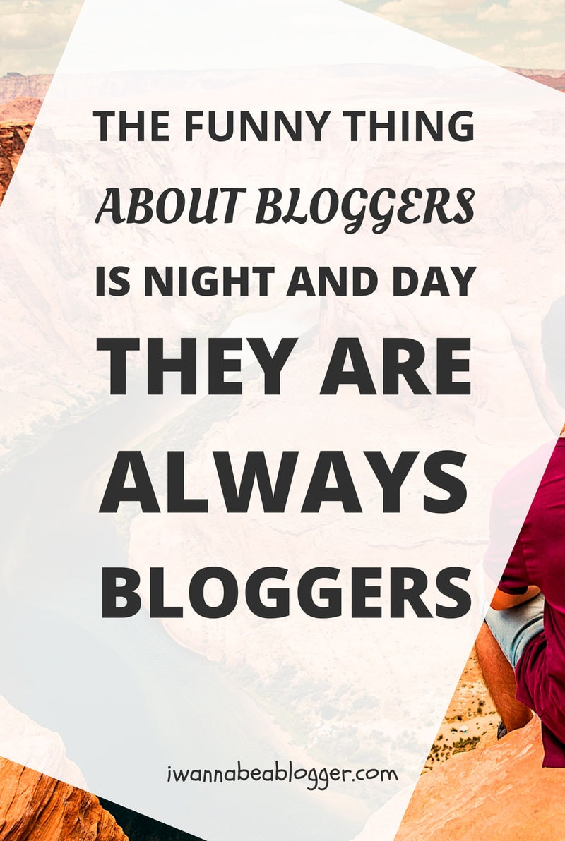 The funny thing about bloggers is night and day they are always bloggers via @michaelpozdnev