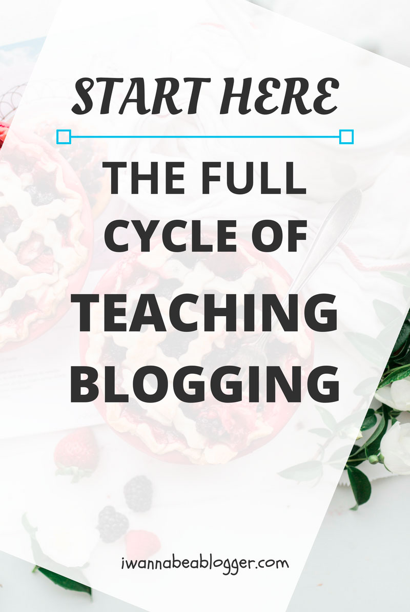 The Full Cycle of Teaching Blogging. I'd like to help you go from starting a blog from scratch to hosting hundreds of thousands of visitors per month. @michaelpozdnev