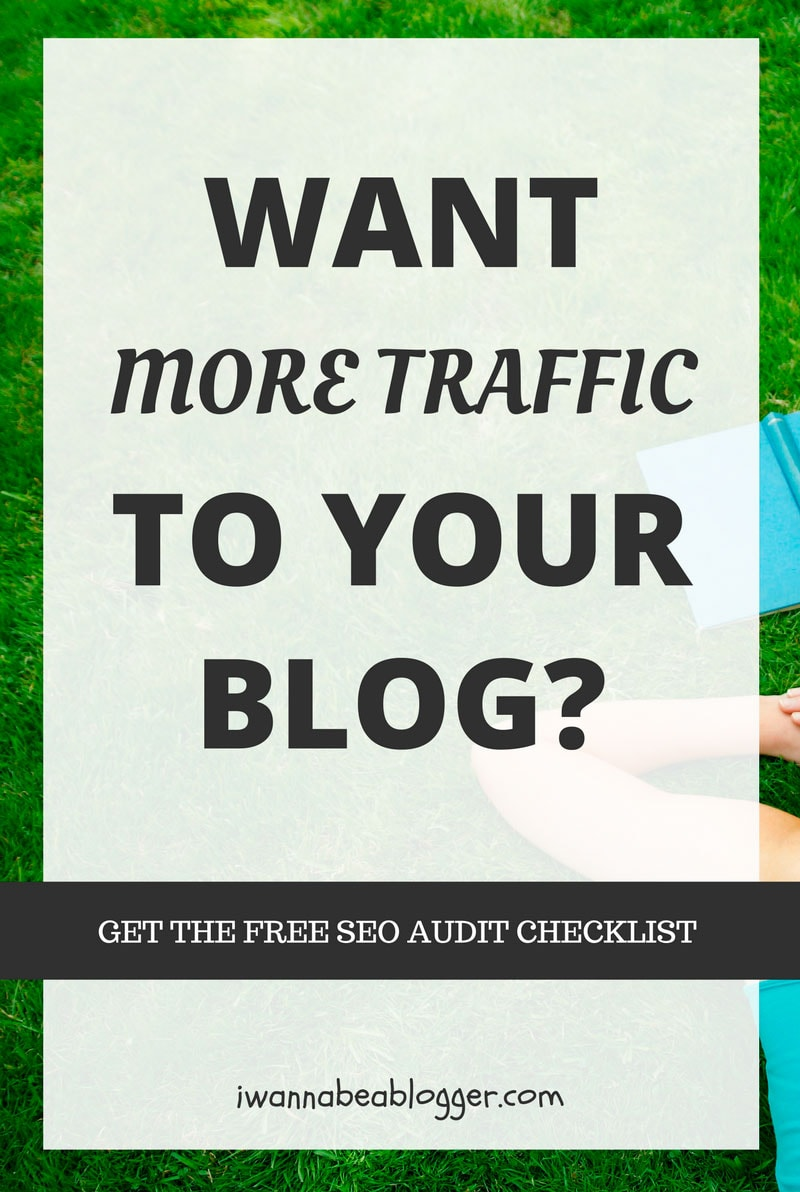 Get the free SEO audit checklist and increase the traffic to your blog. via @michaelpozdnev
