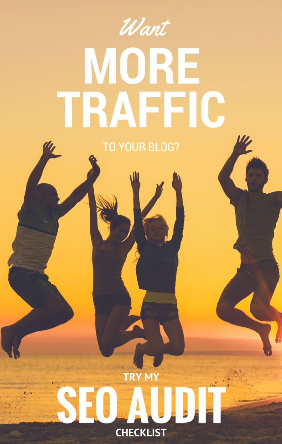 Want More Traffic to Your Blog? Try My SEO Audit Checklist for Free