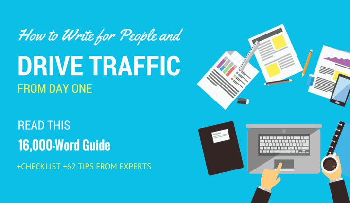 How to Write for People and Drive Traffic from Day One