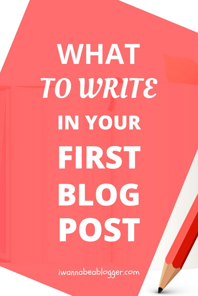 How to Write Your First Blog Post (57 Best Ideas and 65